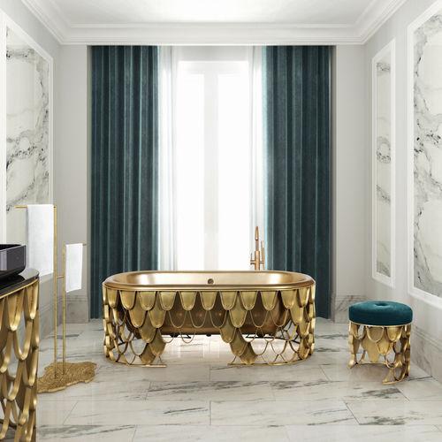 free-standing bathtub - Maison Valentina