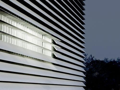 panel cladding / concrete / smooth