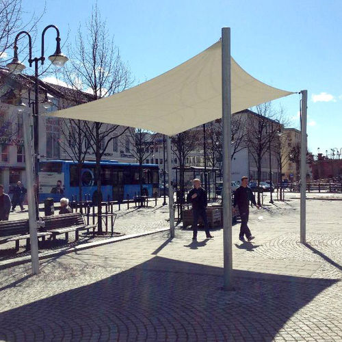 commercial shade sail / triangular / rectangular / square