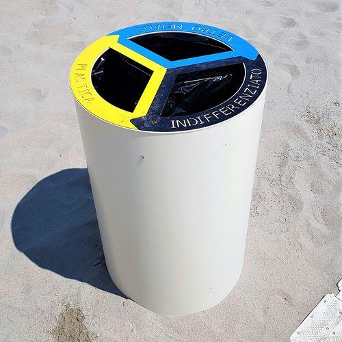 public trash can - THE ITALIAN LAB