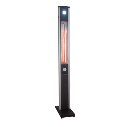 free-standing infrared patio heater / electric / portable