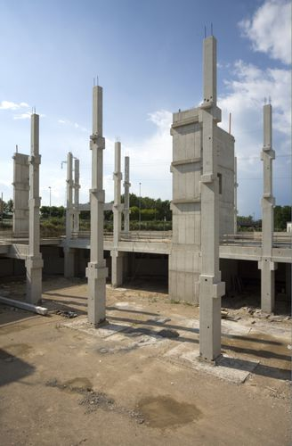reinforced concrete prefabricated pillar