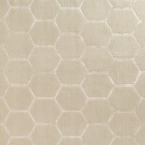 contemporary rug / geometric pattern / silk / New Zealand wool