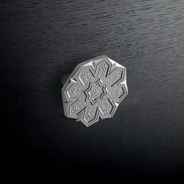 traditional furniture knob / zinc