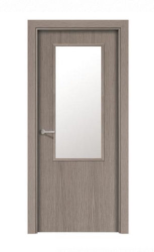 interior door / swing / vinyl / laminated