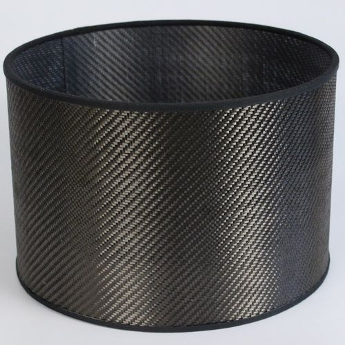 contemporary lampshade / carbon fiber