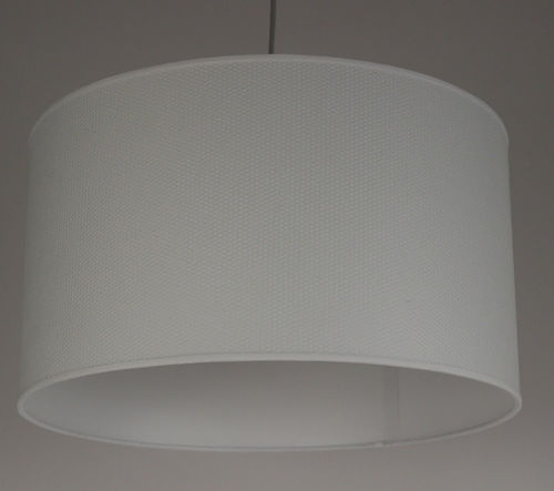 pendant lamp / contemporary / fabric / halogen