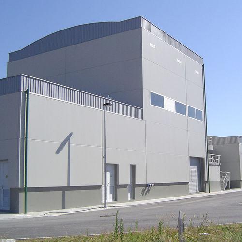 panel cladding / precast concrete / reinforced concrete / smooth