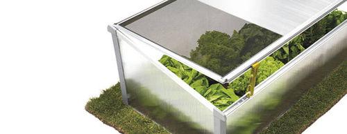 aluminum frame greenhouse / polycarbonate