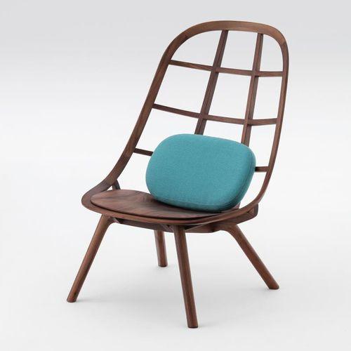contemporary fireside chair - Meetee