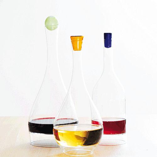 blown glass carafe