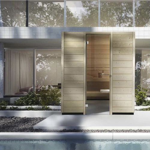 home sauna / for outdoor use