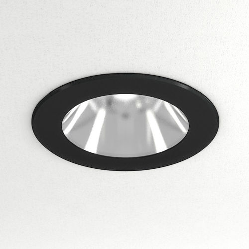 recessed light fixture / LED / round / living room