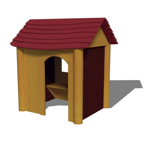 outdoor playhouse / floor-mounted