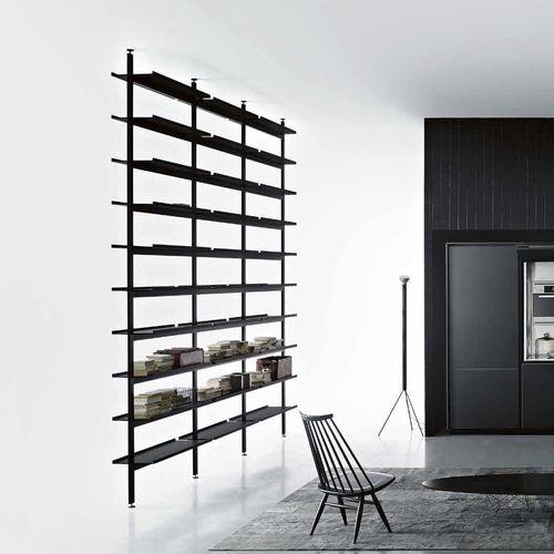 floor-to-ceiling shelf