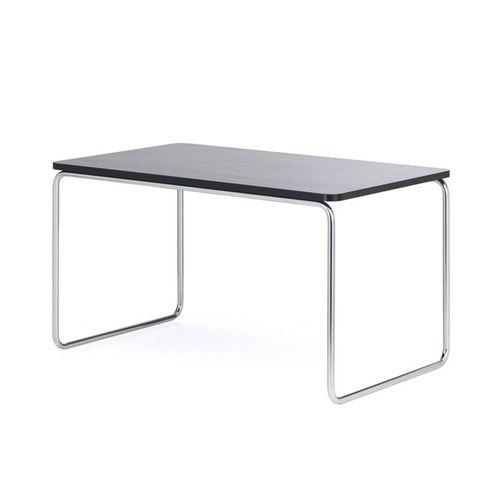 Bauhaus design boardroom table / beech / steel / rectangular