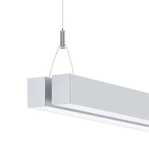 hanging lighting profile / LED / dimmable / pathway