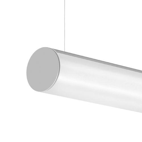 hanging light fixture / LED / tubular / extruded aluminum