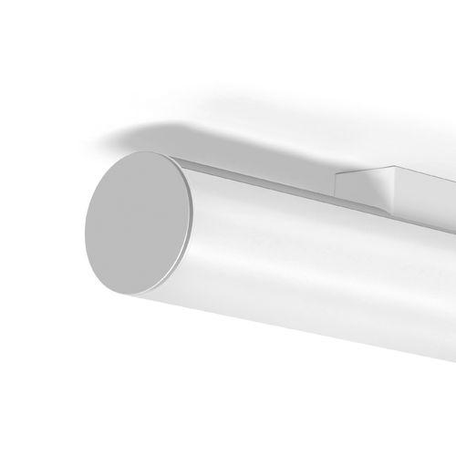 surface-mounted light fixture / LED / tubular / extruded aluminum
