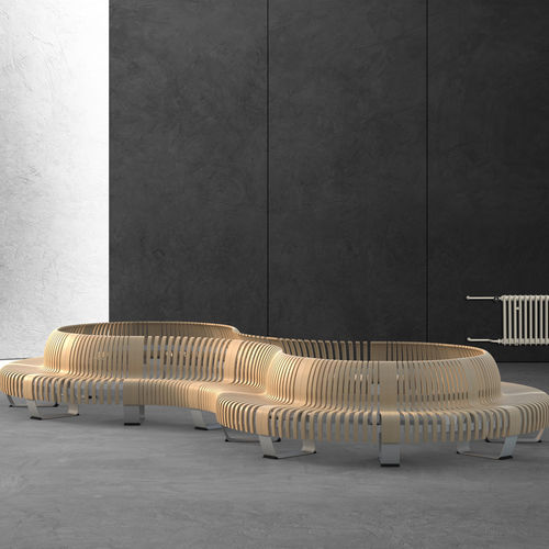 contemporary public bench - Green Furniture Concept