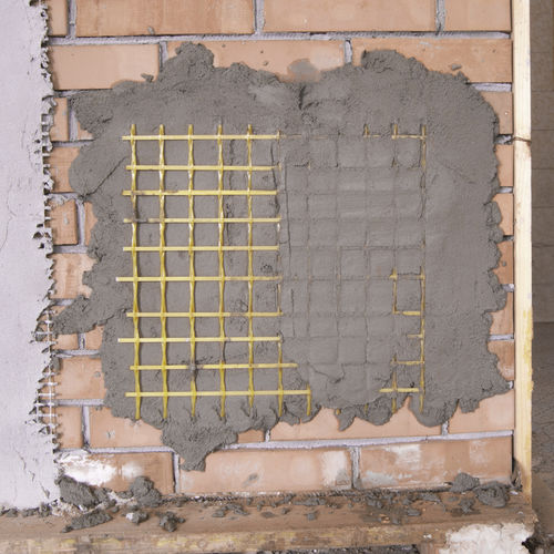 fiberglass reinforcement grid