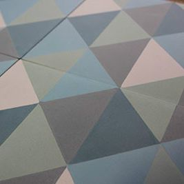 indoor encaustic cement tile / floor / geometric pattern