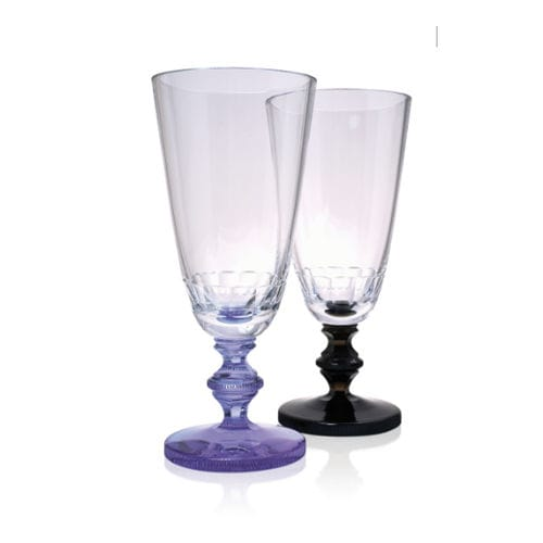 stemware glass / crystal / for domestic use / commercial