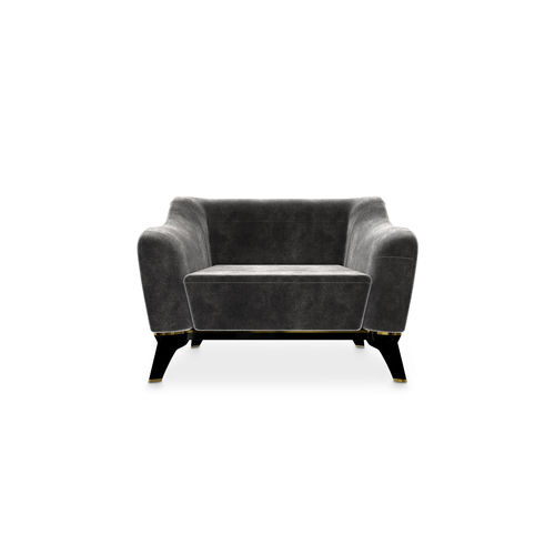 contemporary armchair - LUXXU MODERN DESIGN & LIVING