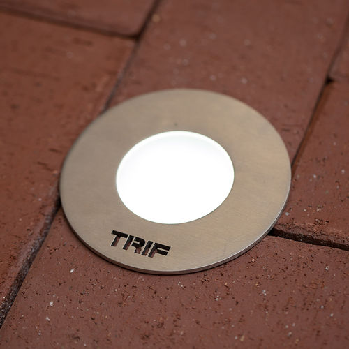 surface-mounted light fixture / recessed floor / LED / round