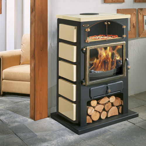 wood heating stove / multi-fuel / gas / traditional