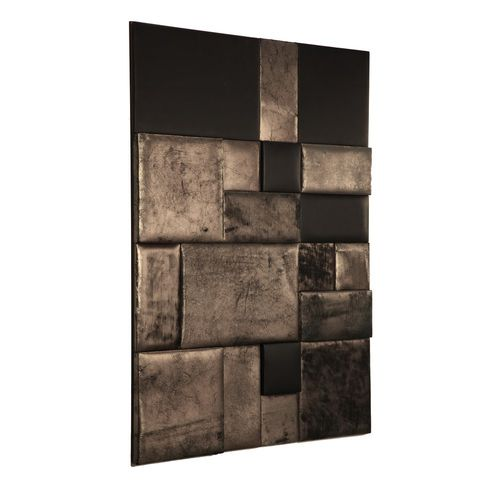 leather decorative panel