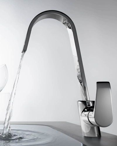 chrome-plated brass mixer tap - Grifería Clever