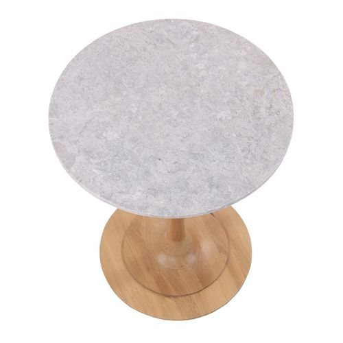 traditional table / stone / round / commercial