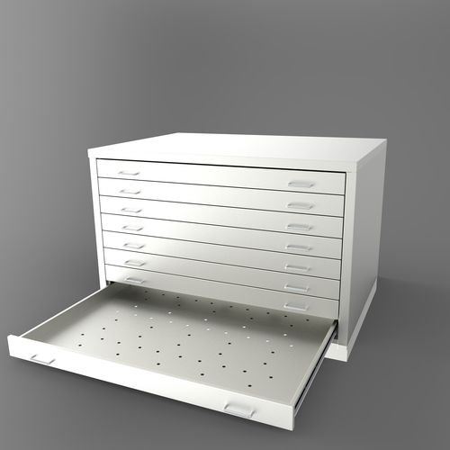 commercial plan file cabinet / metal