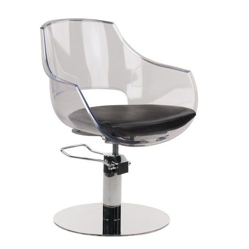 Astounding Plexiglas Beauty Salon Chair Central Base With Gmtry Best Dining Table And Chair Ideas Images Gmtryco