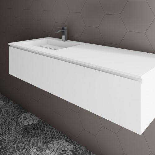 wall-mounted washbasin cabinet
