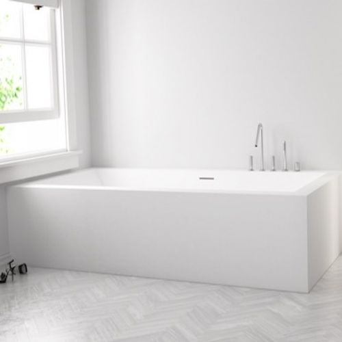 Corian® bathtub