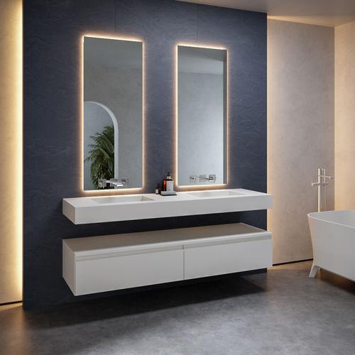 double washbasin