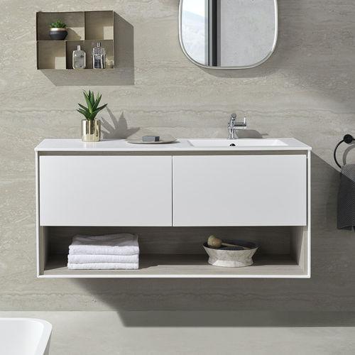 wall-hung washbasin cabinet - Riluxa