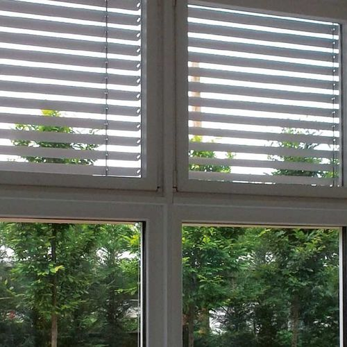 Venetian opening system for blinds / motorized / cord-operated / hand-cranked