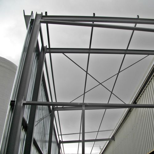 steel structure for industrial buildings