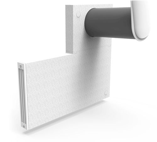 decentralized ventilation unit / heat-recovery / residential / for homes