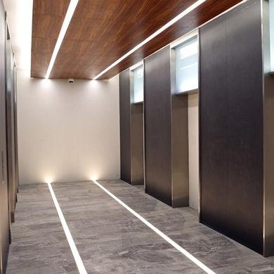 built-in lighting profile / floor / ceiling / LED