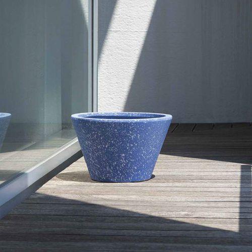 clay garden pot / round / home