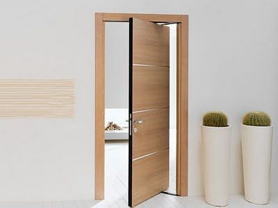 fire-rated door / interior / swing / pivoting with offset axis