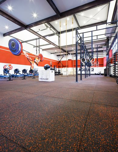 recycled rubber sports flooring