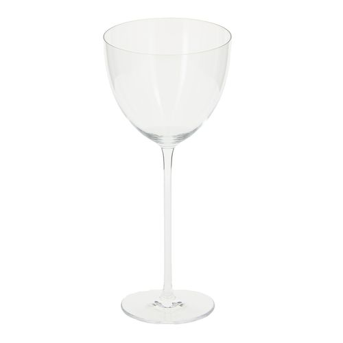 wine glass / stemware / blown glass / for domestic use