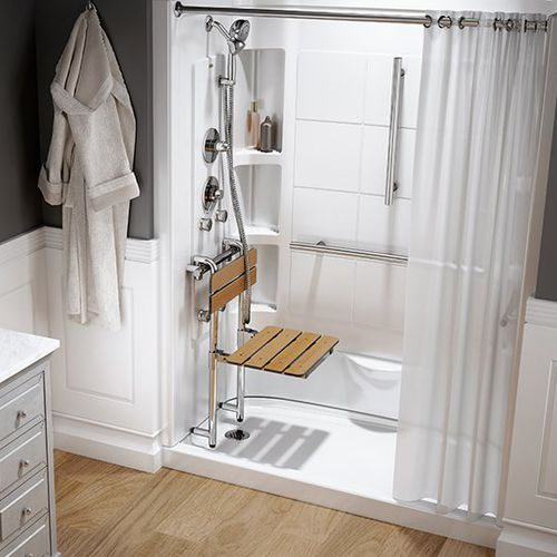 walk-in shower / multi-function / for alcoves / for hydrotherapy