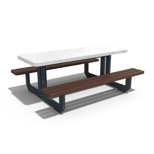 contemporary picnic table