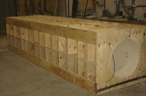 modular formwork / frame / circular / plywood